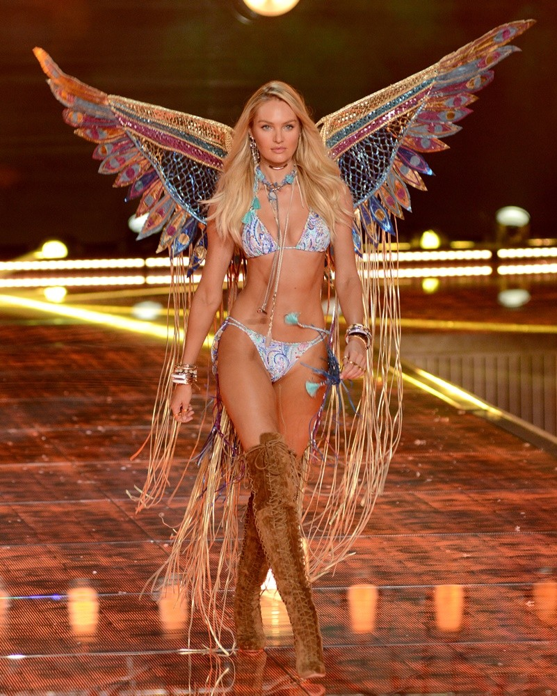 2015 Victoria's Secret Fashion Show - Runway Featuring: Candice Swanepoel Where: Queens, New York, United States When: 11 Nov 2015 Credit: Ivan Nikolov/WENN.com