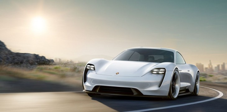 Porsche na baterię