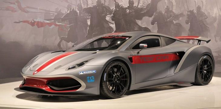 Polski samochód wyścigowy klasy GT