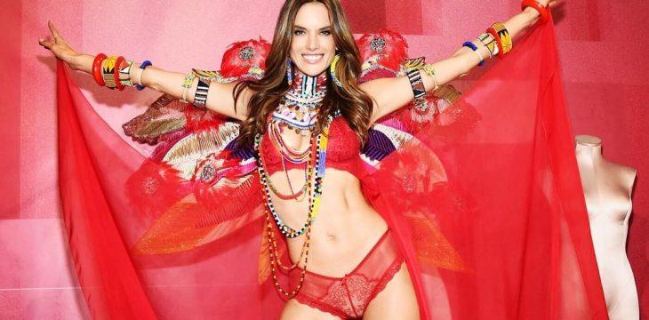 Allesandra Ambrosio ostatni raz jako aniołek Victoria's Secret