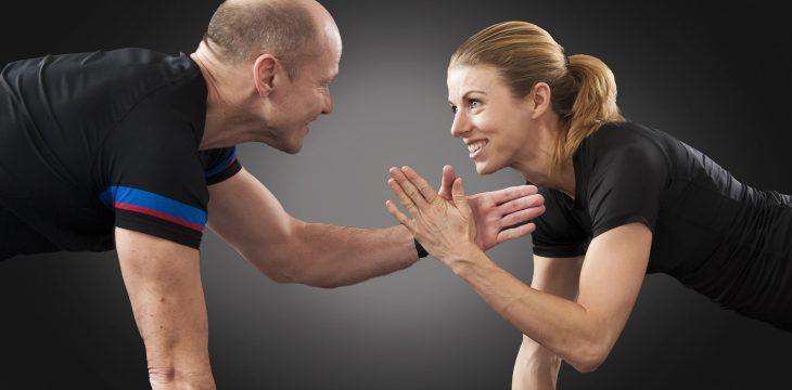 Couple Workout – ćwiczenia w parach to niezła frajda